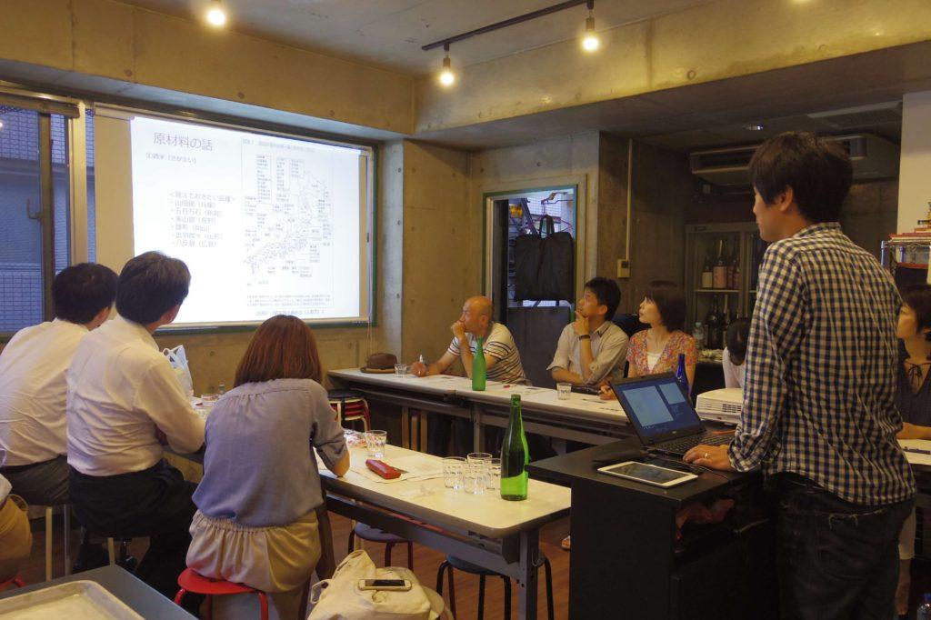 【学ぶ×日本酒セミナー】今月ものりのりで開講中!